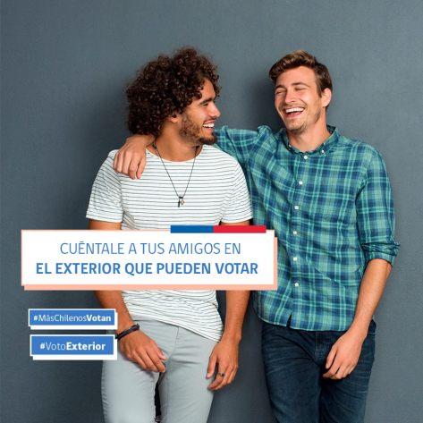 voto jovenes en el exterior